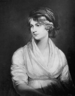 Mary Wollstonecraft. Mother of Mary Shelley
