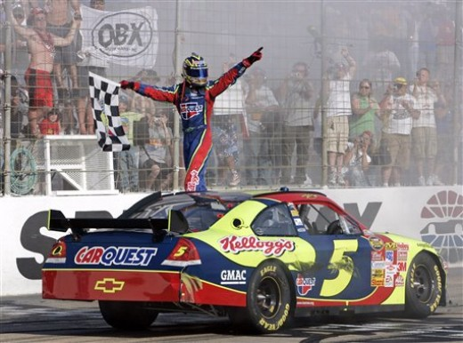 Kyle Busch also had limited stock car experience before moving to the Sprint Cup level. He won three times his rookie year