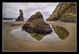 Tide Pool Reflection from james neeley  flickr.com