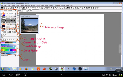 Twisted Brush Interface