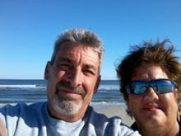 Living the good life now with my wife and a sober one too.  Life is great here at the Ocean.