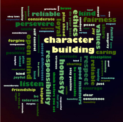 Studying, learning, and understanding Character Building aspects help change the Character Defects