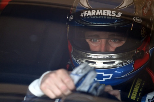 Kasey Kahne heads into Bristol looking for a spot in NASCAR's Chase for the Sprint Cup