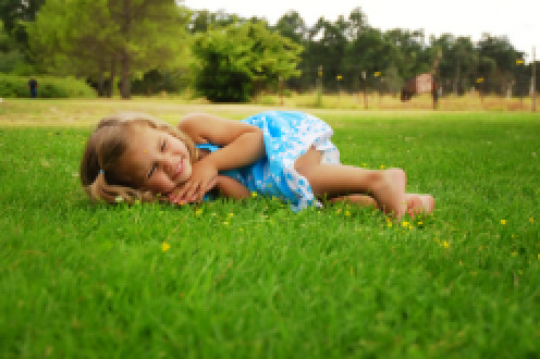 Organically treated lawns bring peace of mind where family safety is concerned.