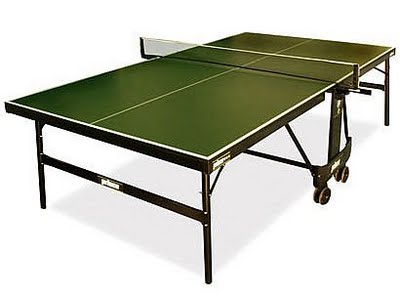 Typical Ping-Pong Table. Try to Find a Similar One for Your Beer Pong Game