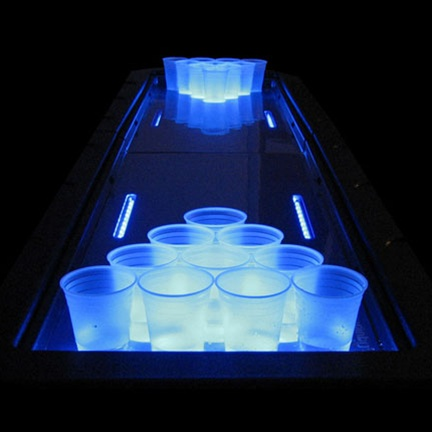 A Fancy Beer Pong Table