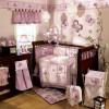 Baby Crib Set - Cocalo  Sugar Plum 8 Piece Crib Bedding Set For Baby Girls