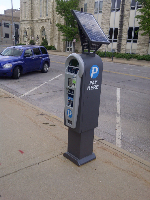 Central Credit Card Payment Center for Parking Spaces