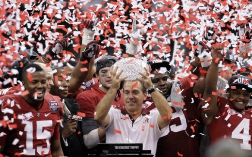 The Alabama Crimson Tide, commonly regarded as the SEC's best football team, earned back-to-back national championships in 2012-2013.