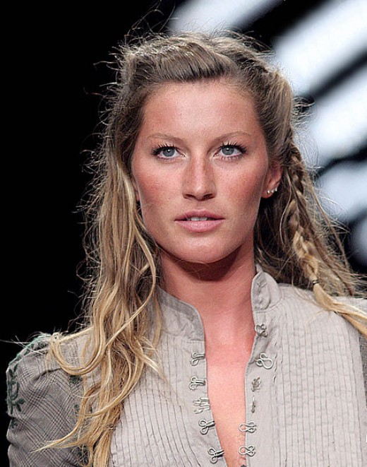 Gisele Bundchen is said to be a standout fashion icon as a model.