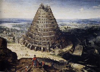 Tower of Babel, by Lucas van Valckenborch, 1594, Louvre Museum