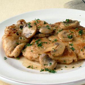 Quick and Easy Mushroom Chicken