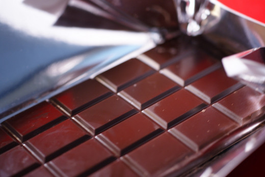 Dark chocolate can lower levels of stress hormones.