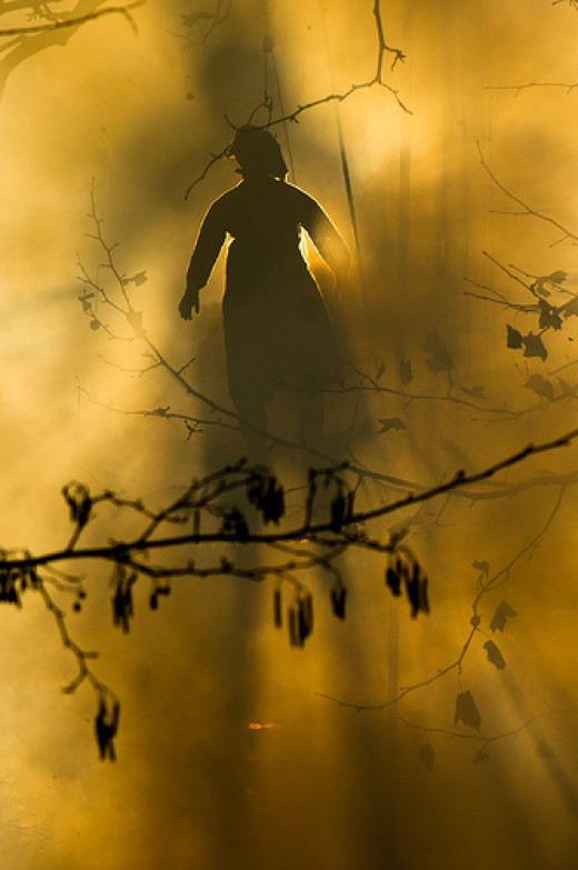 "burning the ""vecia"" from alex@Tlon  flickr.com"