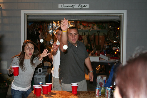 Blocking a shot is Considered as an offensive Move in Beer Pong Rules and will Ultimately lead you to lose the Game