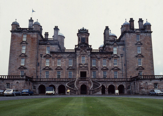 The ghost of a lady called Anne Douglas is said to haunt Drumlanrig Castle