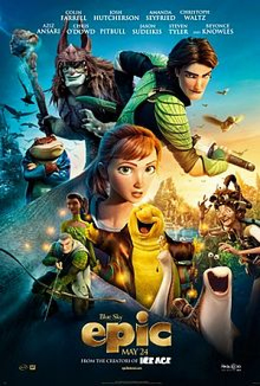 """""""epic"""" may be one of the great animated films of all-time."""