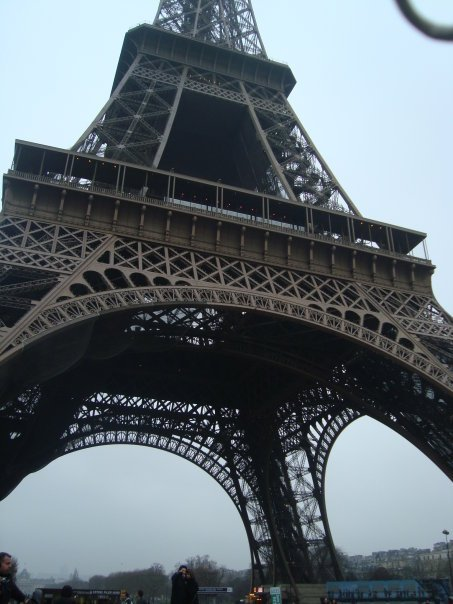 The Eiffel Tower, taken by me when I was in Paris