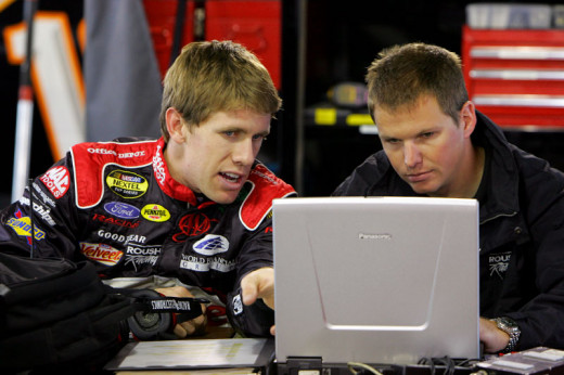 Carl Edwards won four races as a rookie, accounting for more than half of the rookie wins over the last decade