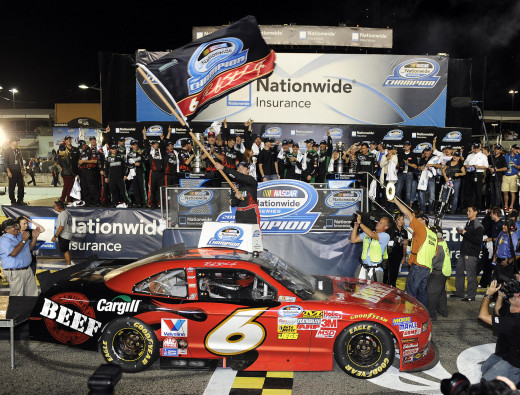 Stenhouse won back to back Nationwide titles for Roush Fenway
