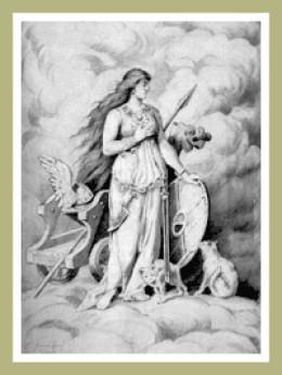 Freyja wears the Brisingamen