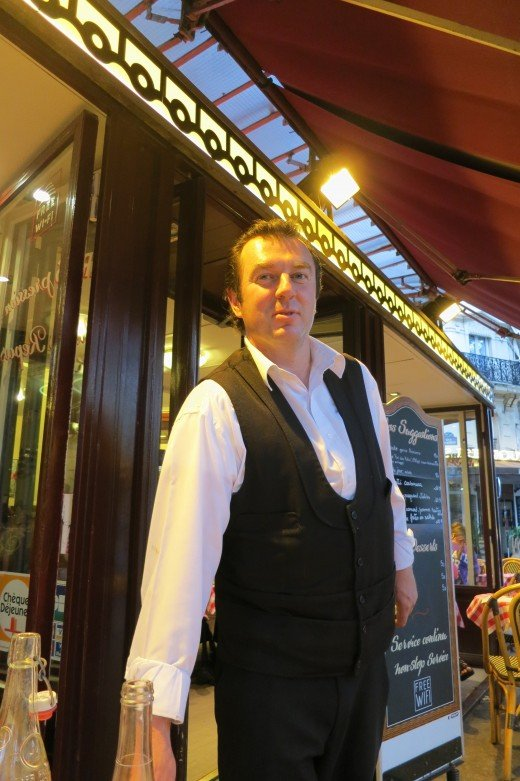 Jean Marc, one terrific waiter