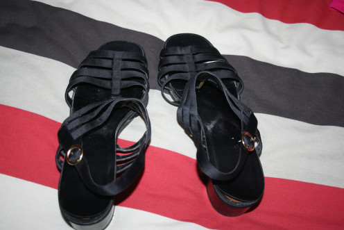 My favourite black sandals