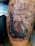 Boxing Glove Tattoos And Designs-Boxing Tattoo Meanings And Ideas