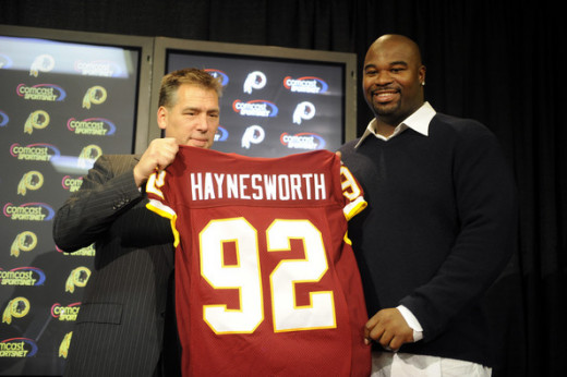 The Haynesworth signing is widely regarded as the worst free agent contract in NFL history