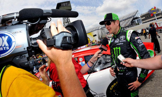 Kurt Busch brings a lot of talent- and a lot of temper- to the table