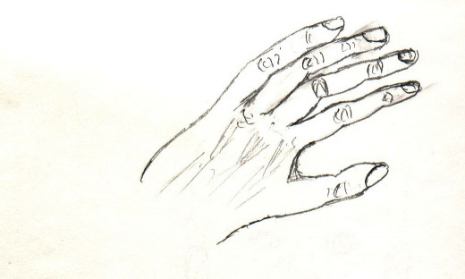 Before Drawing, Hand