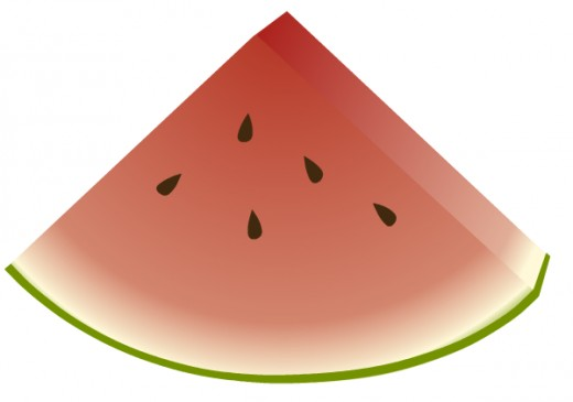 Watermelon slice clip art