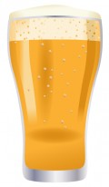 Free food clip art: Glass of beer