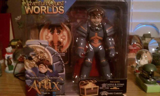 Artix the Paladin figure