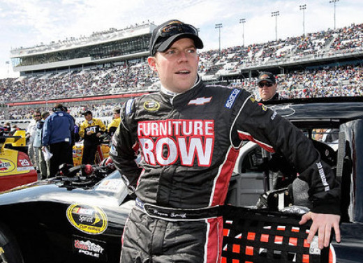 Regan Smith drove for Furniture Row from 2009 to 2012