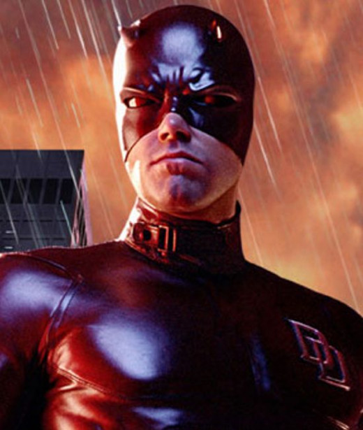 Ben Affleck as Daredevil (Close enough for now)