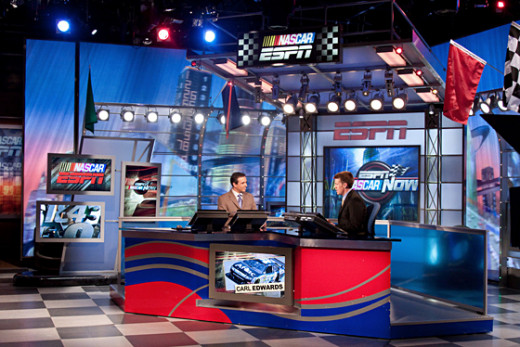 ESPN's NASCAR coverage (like NASCAR Now) post-2014 may depend on reaching an agreement with the sport now