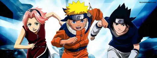 The three main characters of Naruto.