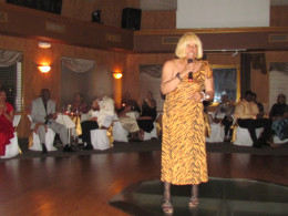 "Peggy Murphy, also performed her major hit entitled, ""Misty,"" as part of our entertainment for the evening."
