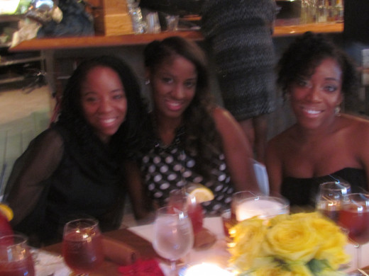 Nisha & Jaleesa, were also present for their grandparent's 60th anniversary celebration, along with their cousin Darlena