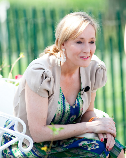 J.K. Rowling has now published two books aimed at an adult audience.