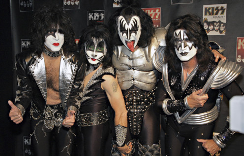 "Kiss. Doesn't the band that brought us ""I Wanna Rock and Roll All Night And Party Every Day"" belong in the Hall of Fame?"