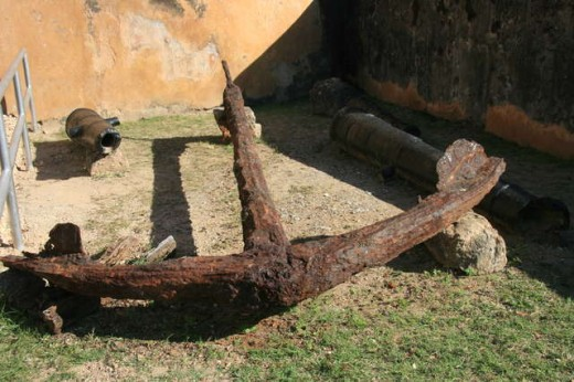Anchor from Arab Dhow Boat