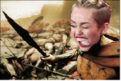 """300 - The Musical"" - Starring Miley Cyrus"