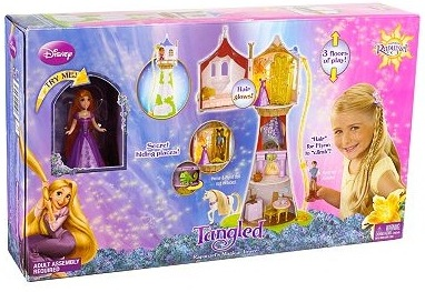 boxed set from Mattel Disney Princess Rapunzel's Magical Tower Playset