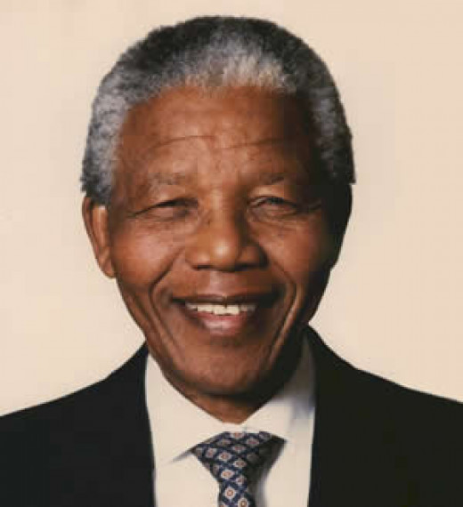 Nelson Mandela,  former South African President ('94)