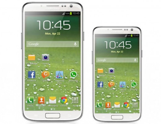 Samsung Galaxy S4 and the Samsung Galaxy S4 Mini