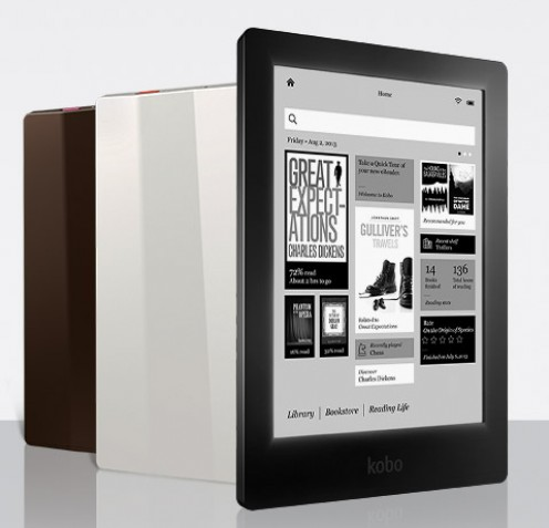 Kobo Aura HD (available in 3 colors)