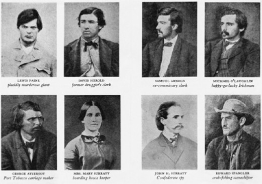 The Conspirators Who Planed The Lincoln Assassination