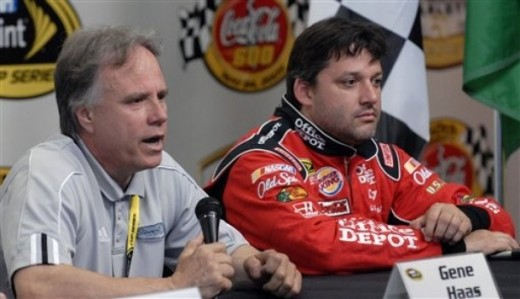 Stewart and Haas, co-owners that aren't on the same page when it comes to expansion